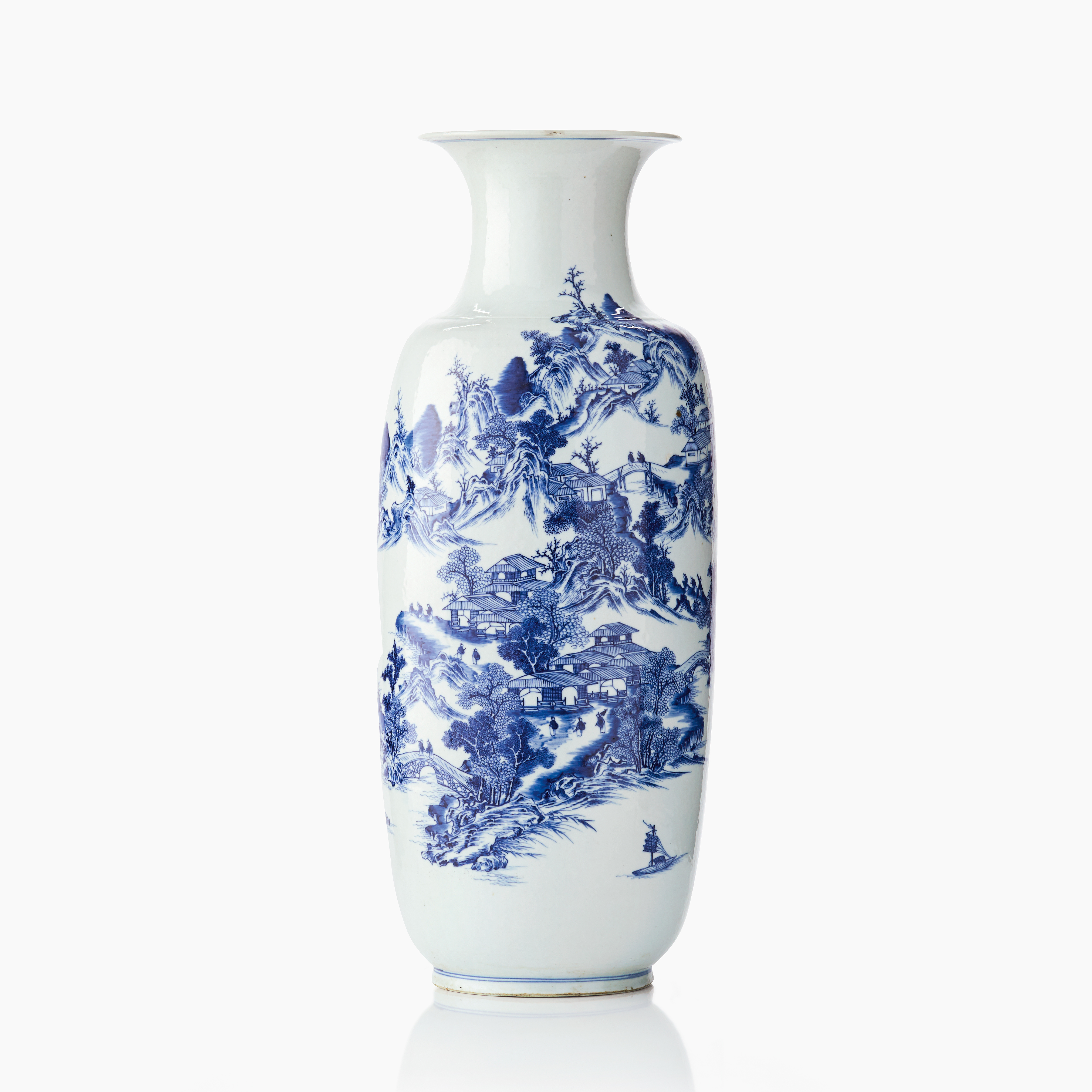 1118 An Imposing Chinese Blue And White Vase Important Sale 13 15 June 2018